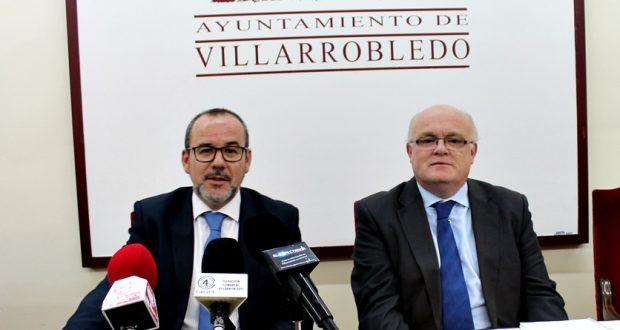Foto JCCM Albacete- Foto Rueda de Prensa en Villarrobledo