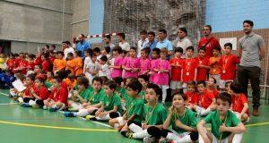Foto.Clausura juegos deportivos municipales prebenjamín futbol sala (2)