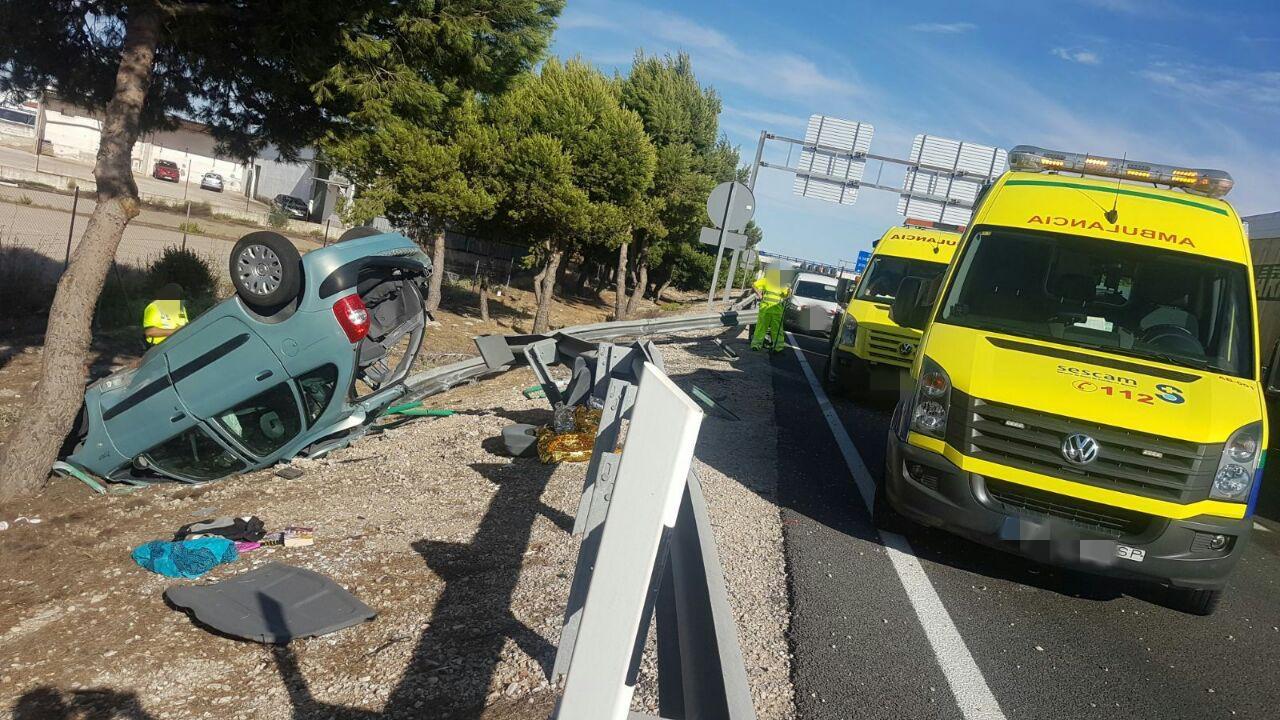 Ltima hora espectacular accidente de tr fico en - Jefatura de trafico de albacete ...