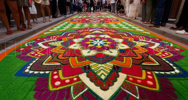 Las alfombras de serr n de elche de la sierra presentes for Alfombras el mundo