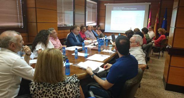 Ultima reunión Comisión provincialde Urbanismo en Albacete