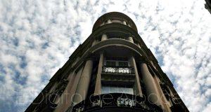 albacete calles nubes centro edificios