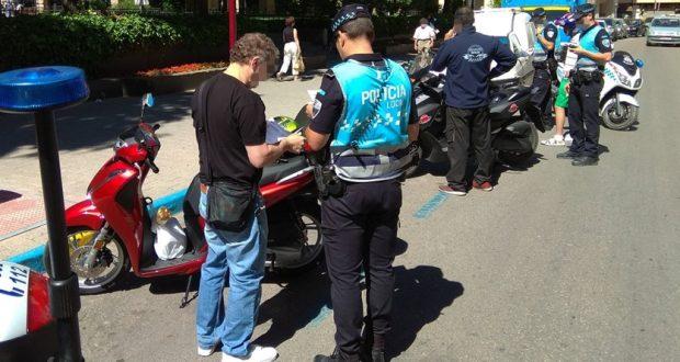control motos policia local