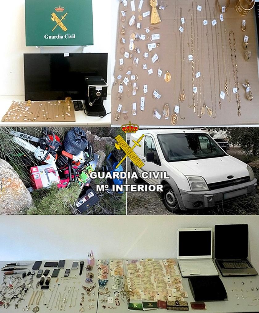 Sustrajeron Objetos Por Valor De Euros En Albacete