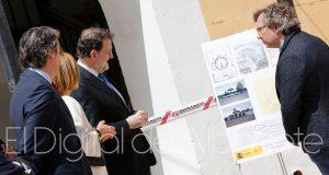 VISITA RAJOY DE LA SERNA COSPEDAL ALBACETE AUTOVIA LINARES JAEN A32 Y RECINTO FERIAL NOTICIAS ALBACETE 92