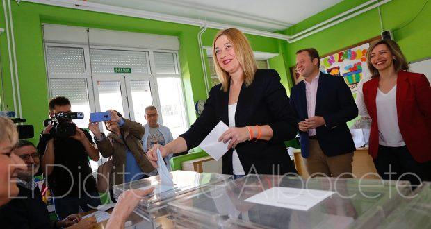 CARMEN PICAZO VOTACIONES ELECCIONES AUTONÓMICAS MUNICIPALES EUROPEAS NOTICIAS ALBACETE 04