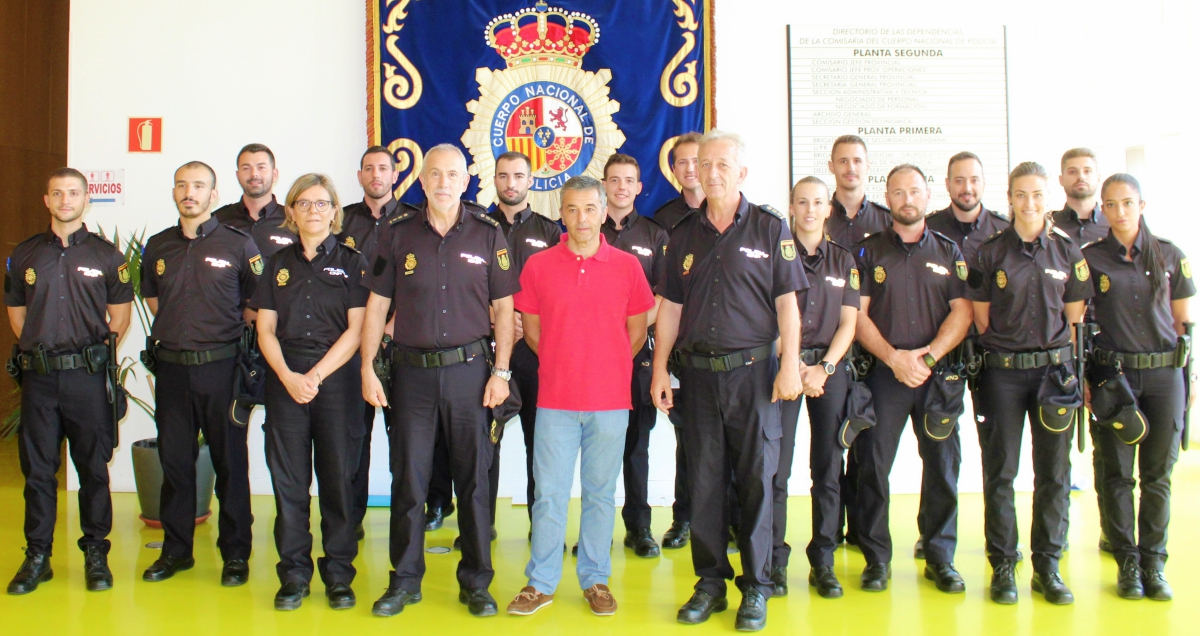 15 Nuevos Agentes De La Policía Nacional Hacen Sus Prácticas