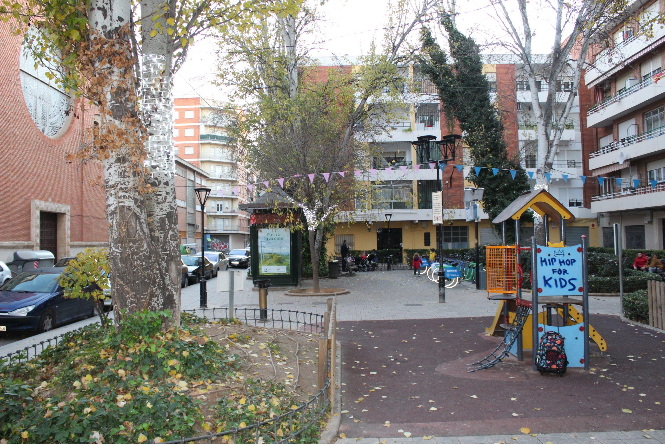 Mejorarán El Parque De La Plaza De Jesús De Medinaceli En El