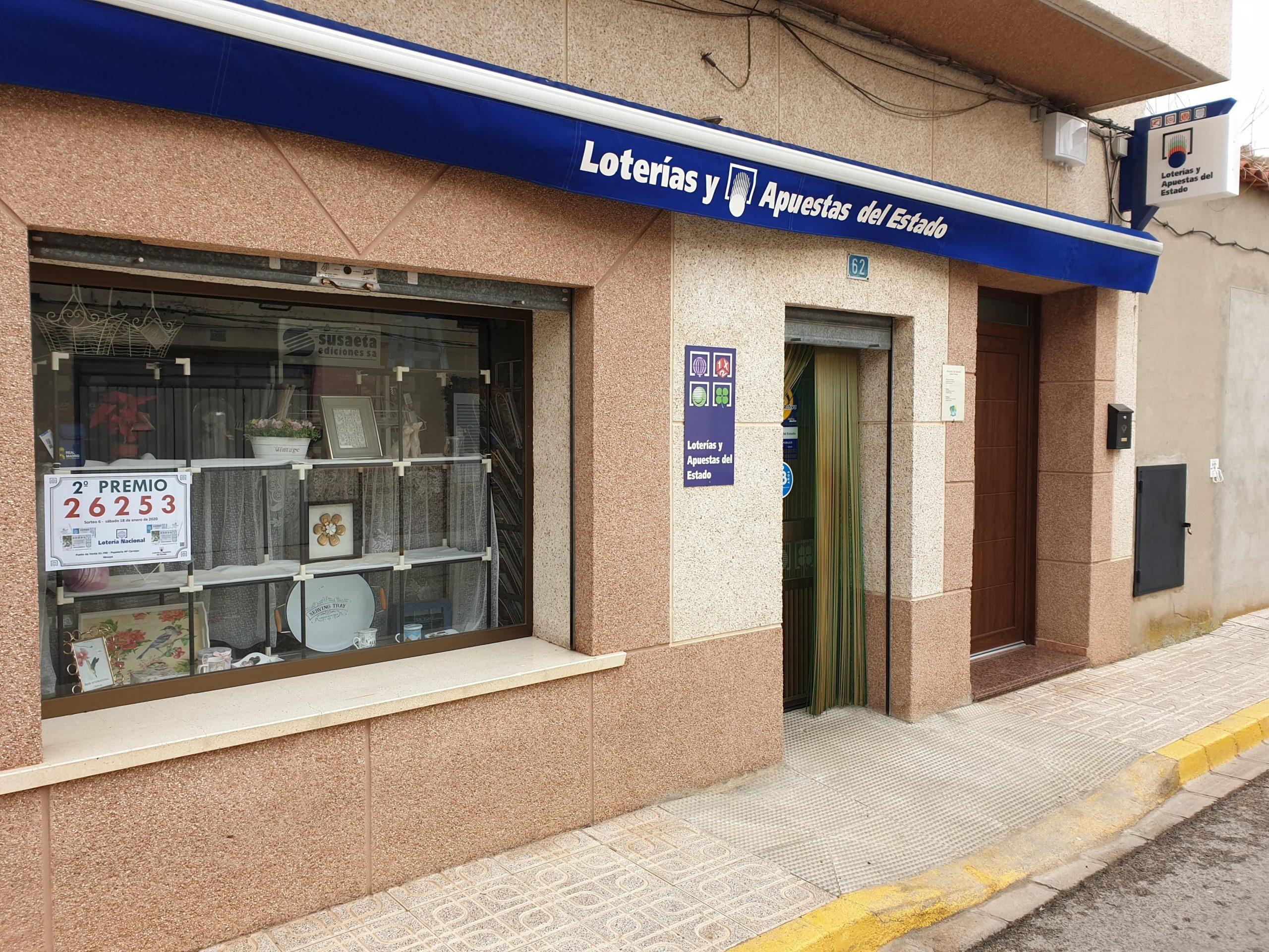La Lotería Nacional deja un segundo premio en la provincia de Zamora