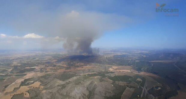 Noticias provincia Albacete incendio