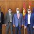 Reunión entre el consejero de Fomento, Nacho Hernando, y miembros de Recamder Reunión entre el consejero de Fomento, Nacho Hernando, y miembros de Recamder