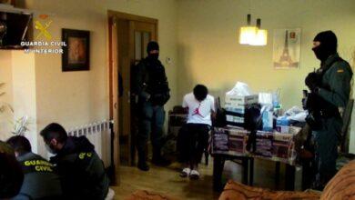 castilla la mancha banda latina detenido