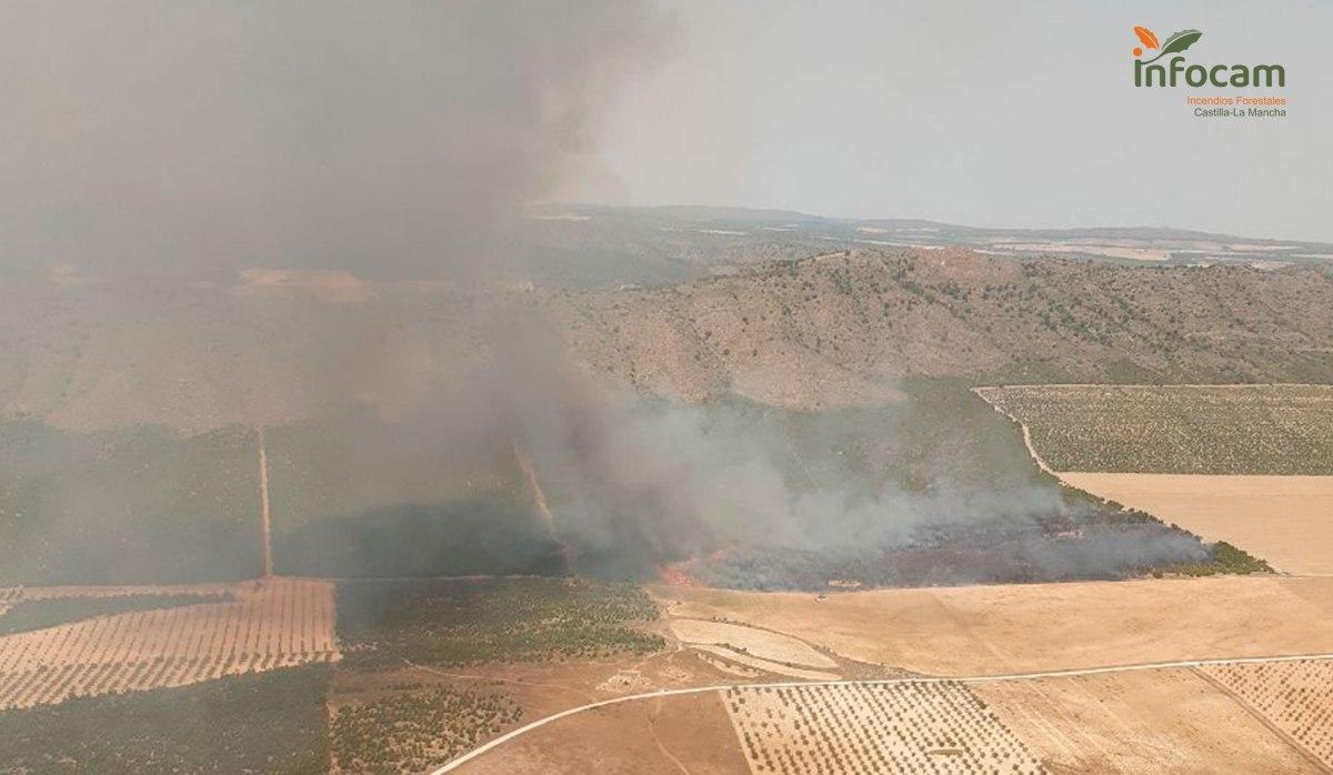 incendio forestal tobarra