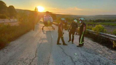 rescate motorista bomberos albacete