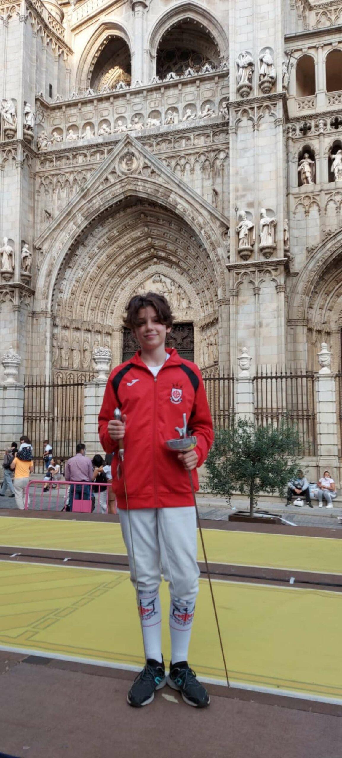 La albaceteña Alicia Alcázar hace historia en la Copa de Maestros de Esgrima de Castilla-La Mancha
