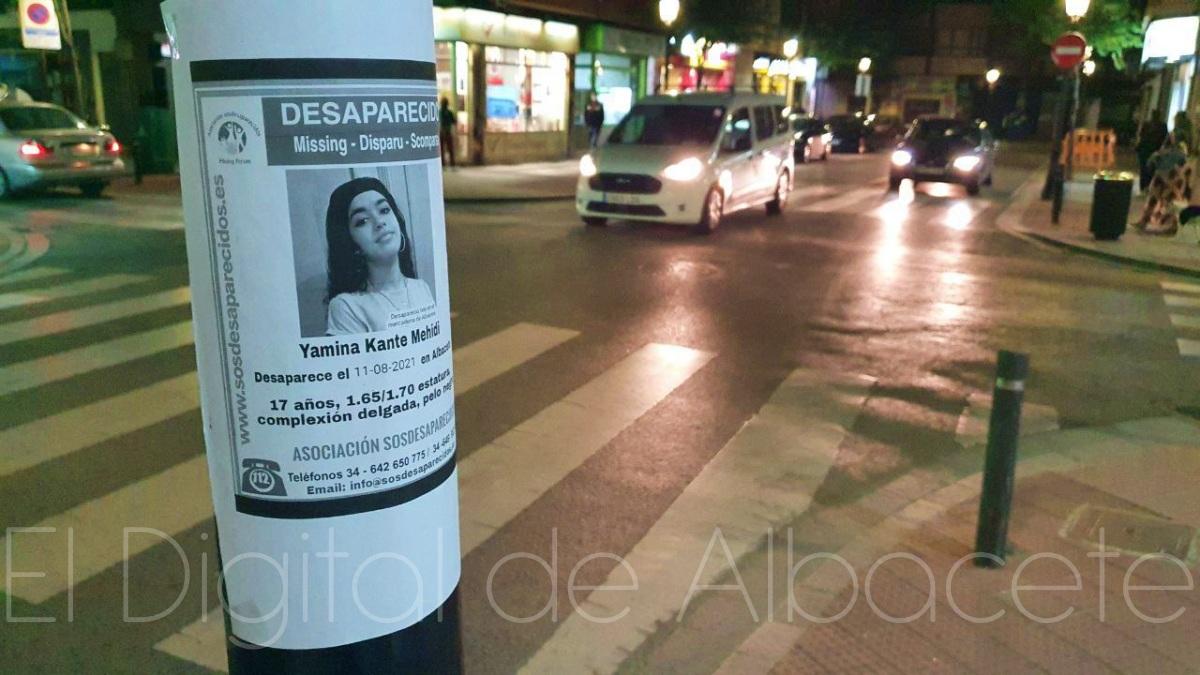 Menor de edad desaparecida en Albacete