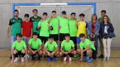 Uno de los equipos de la Asociación Vecinal Villacerrada