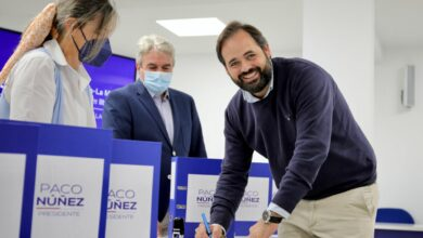 """Núñez recibe un """"apoyo masivo"""" a su candidatura con más de 8.000 avales """"desde todos los puntos de la región"""""""