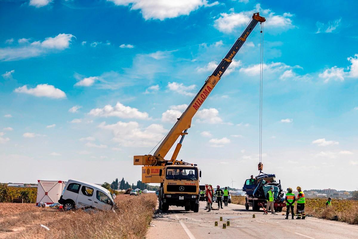 Tres fallecidos y cuatro heridos graves en una colisión en Castilla-La Mancha