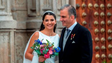 Se casa en Toledo el secretario general de Vox, Javier Ortega Smith