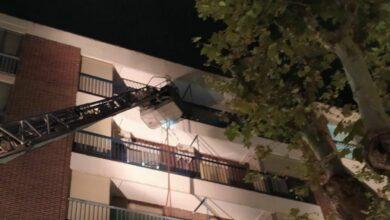 Bomberos de Albacete intervienen en Blasco Ibáñez