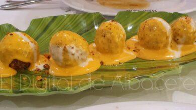 Patatas bravas del Restaurante Martina en Albacete