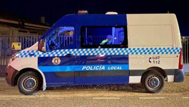 Una furgoneta de la Policía Local de Albacete